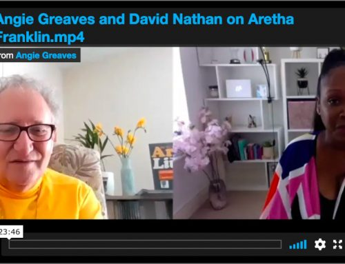 Angie Greaves Interviews David Nathan on Aretha Franklin